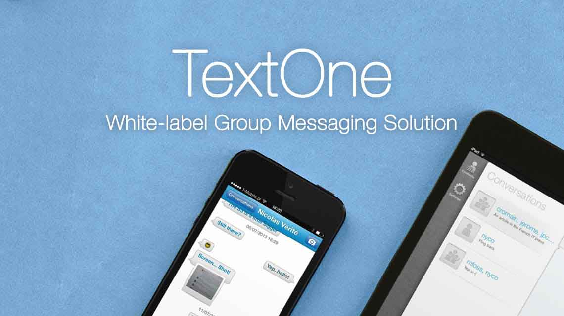 TextOne - White-label Group Messaging Solution